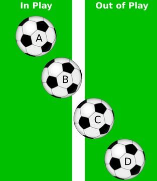 peraturan bola keluar