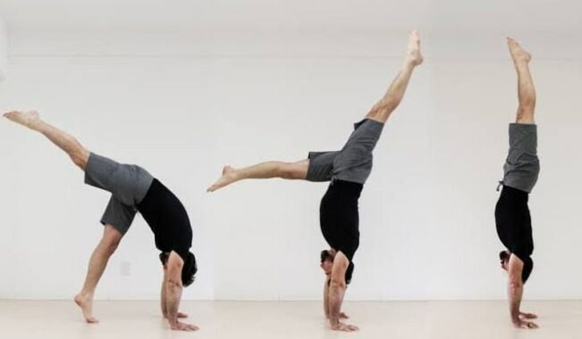 Gerakan Handstand