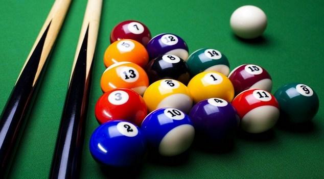 Sarana Prasarana Olahraga Billiard